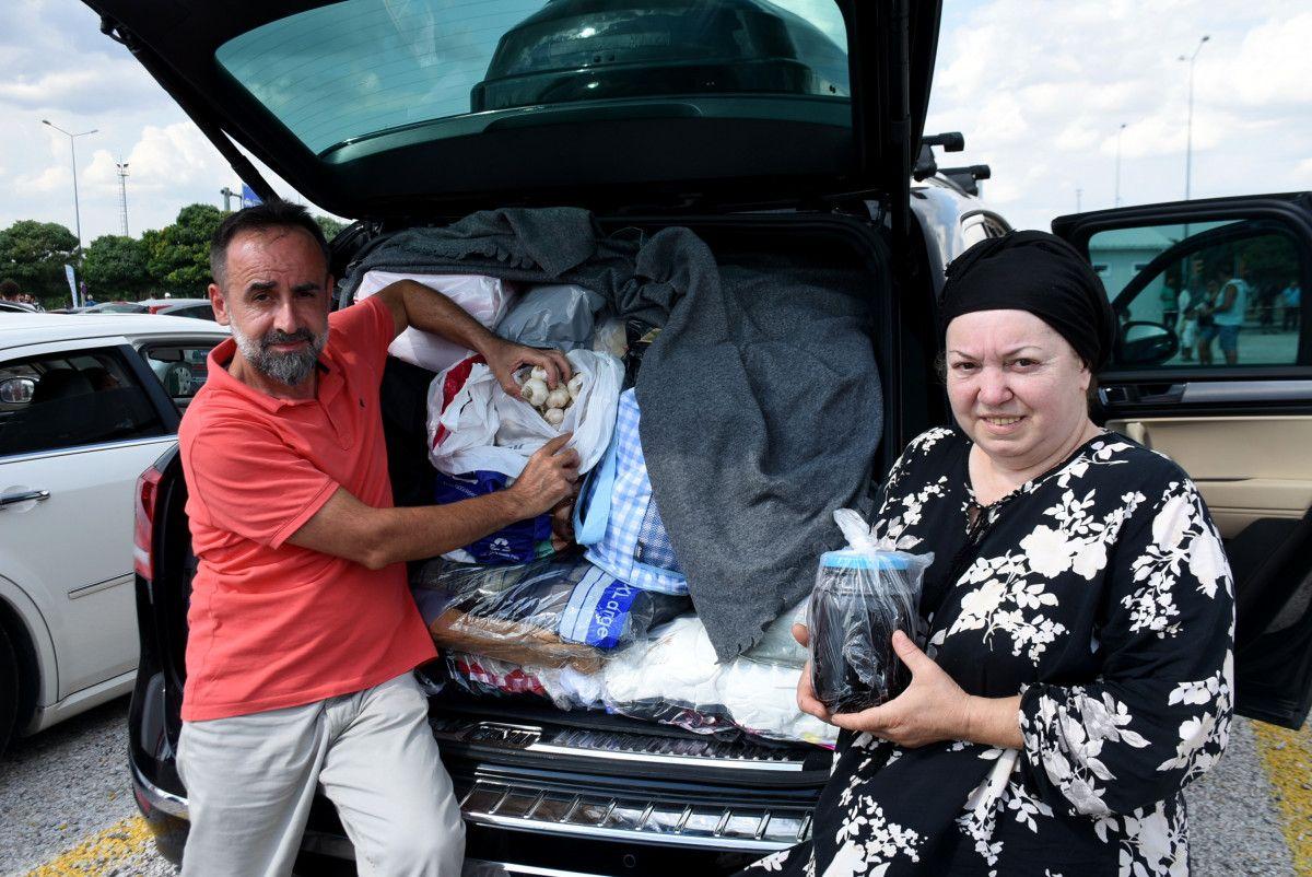 Gurbetçiler dönüş yolunda bagajları doldurdu #1