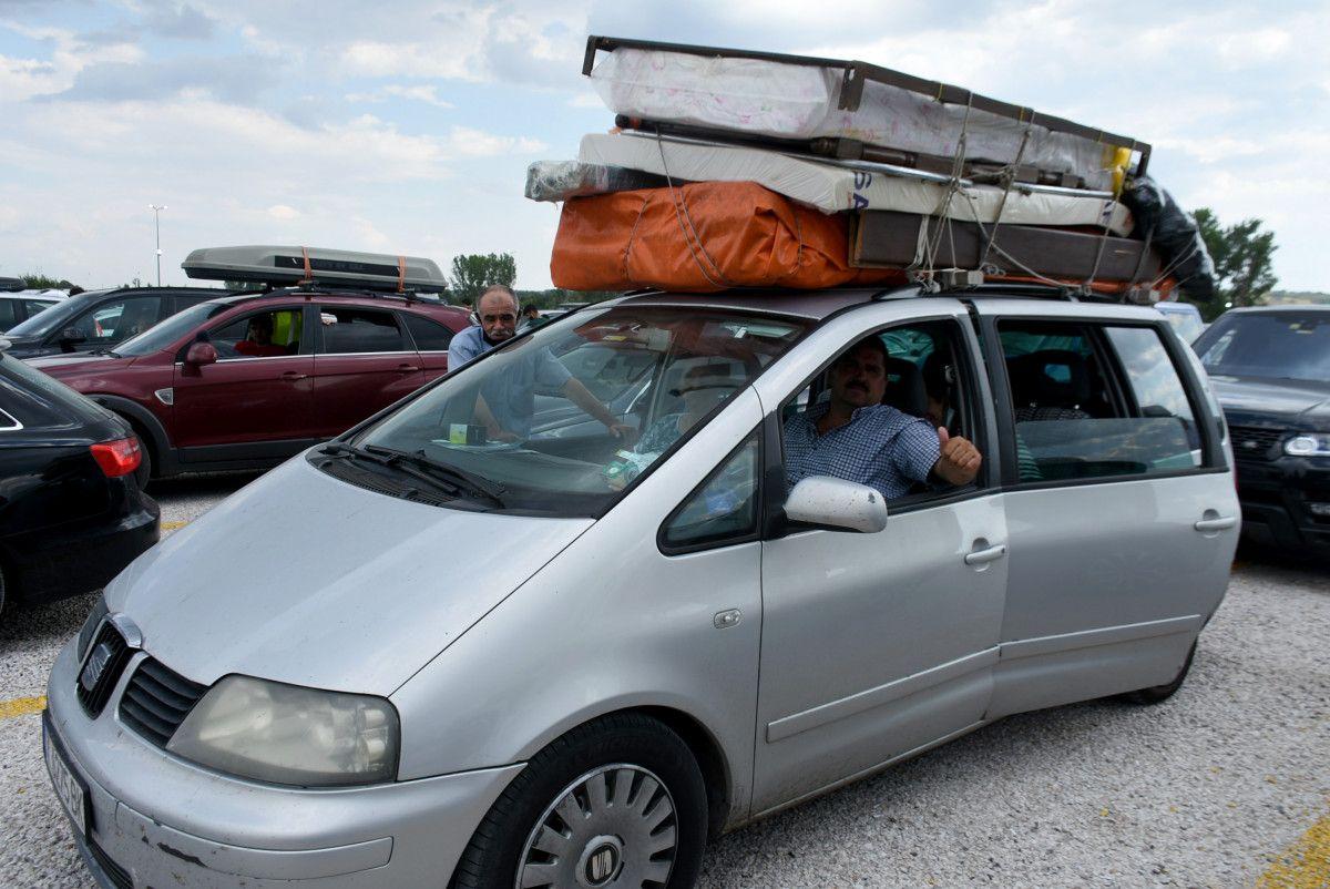 Gurbetçiler dönüş yolunda bagajları doldurdu #9
