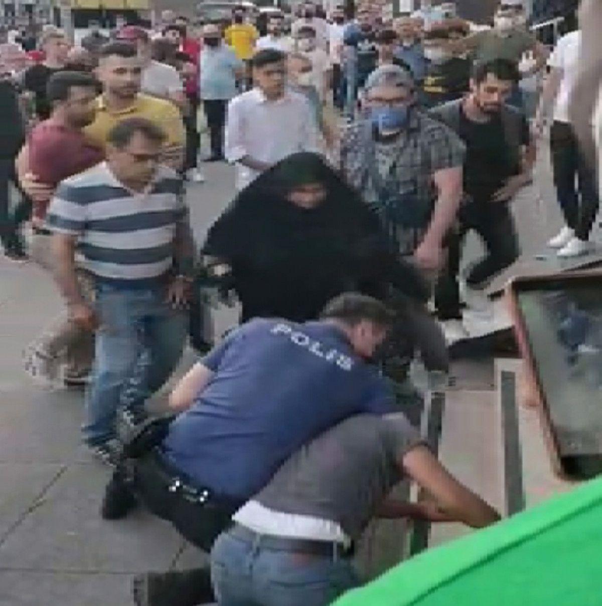 Sultangazi de kız kaçırma iddiası mahalleyi karıştırdı #5