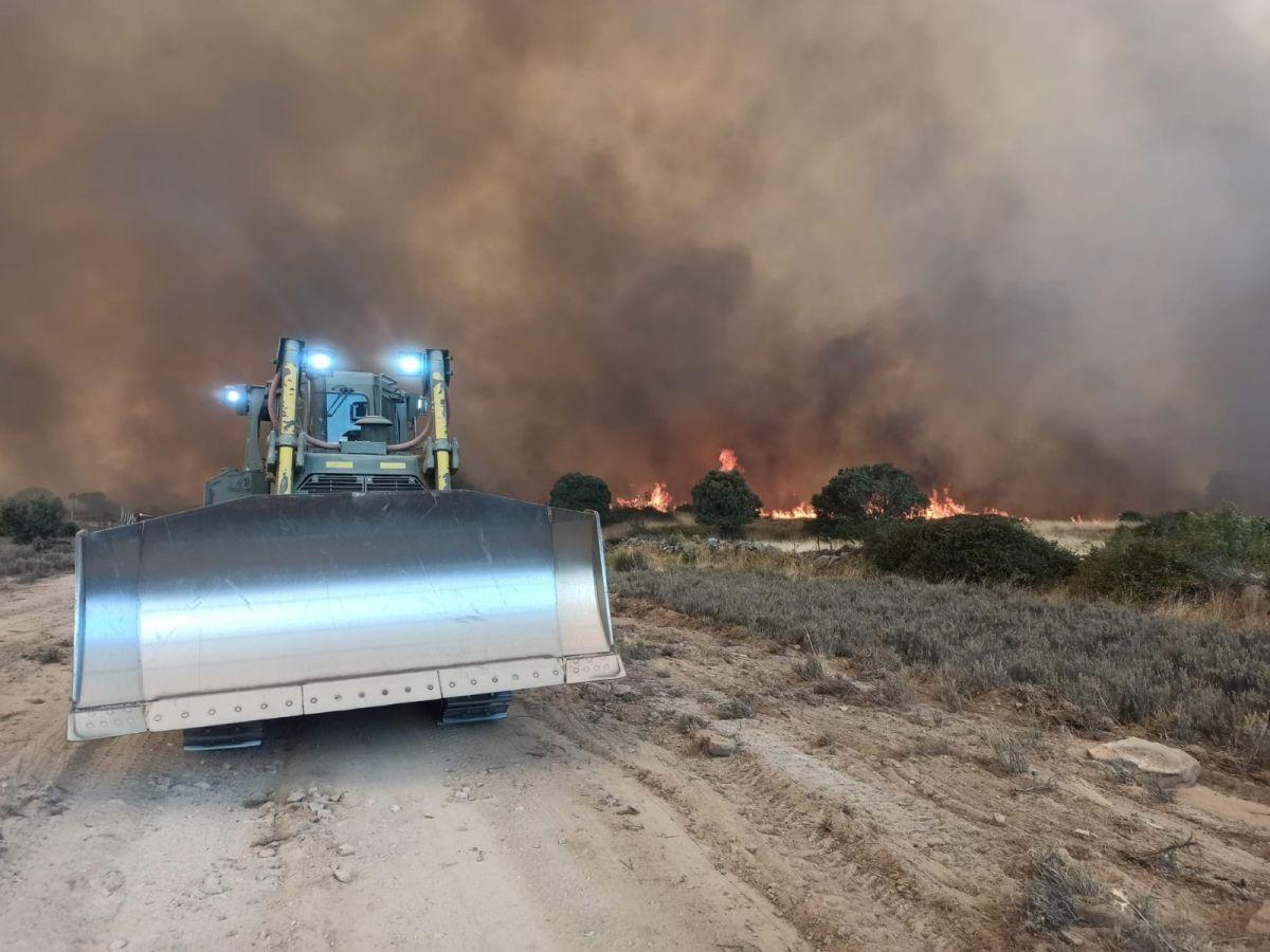 İspanya da 12 bin hektarlık ormanlık alan küle döndü #4