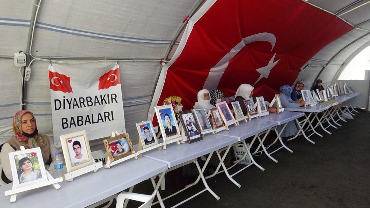 Diyarbakır da evlat nöbetindeki anne: Siyaset yapmaya değil, oğlumu almaya geldim #1