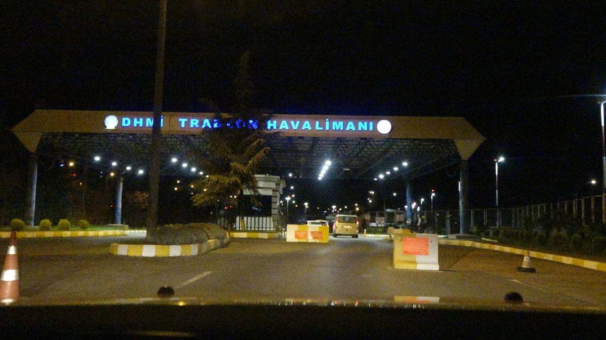 Trabzon Havalimanı nda pist çatladı, uçuşlar iptal edildi #5