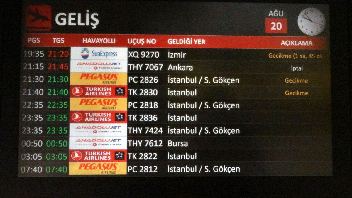 Trabzon Havalimanı nda pist çatladı, uçuşlar iptal edildi #6