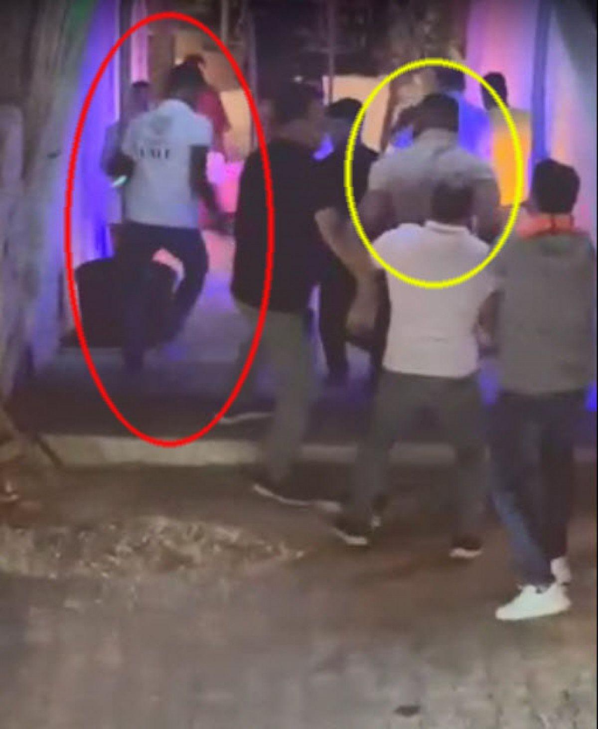 Çeşme de gece kulübündeki kavgada 1 kişinin öldürülme anı kamerada #7