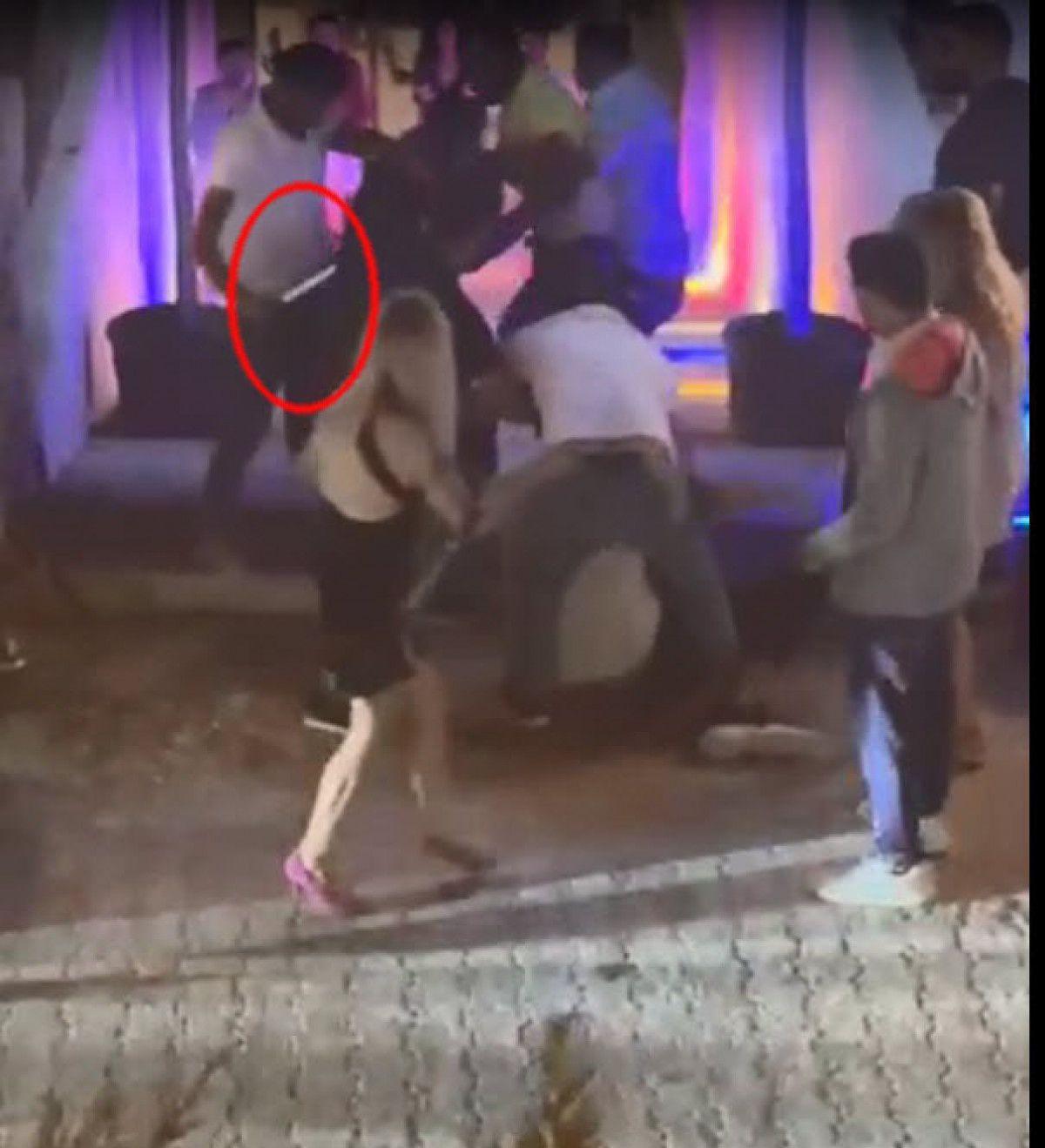 Çeşme de gece kulübündeki kavgada 1 kişinin öldürülme anı kamerada #6