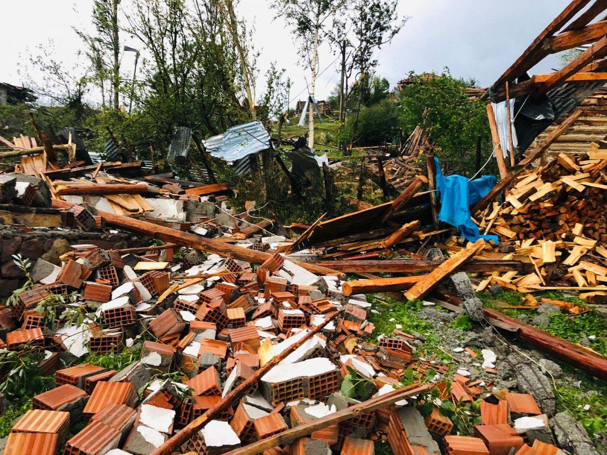 Artvin Şavşat'ta hortum ve fırtına etkili oldu #9