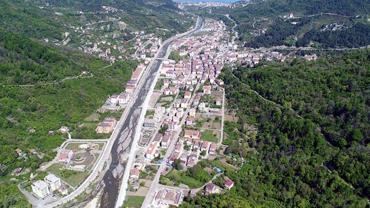 Sel oluşan Bozkurt taki Ezine Çayı, 4 bin metrelik duvarla ıslah edilecek #4