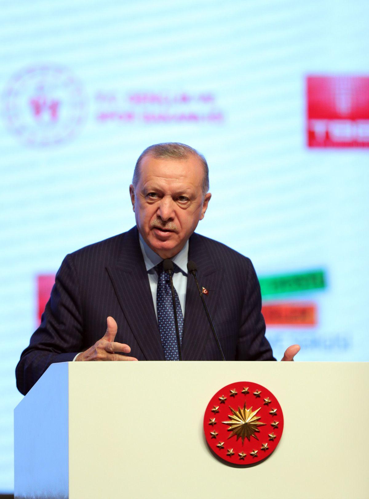 Cumhurbaşkanı Erdoğan Genç Dostu Şehirler Kongresi nde #1