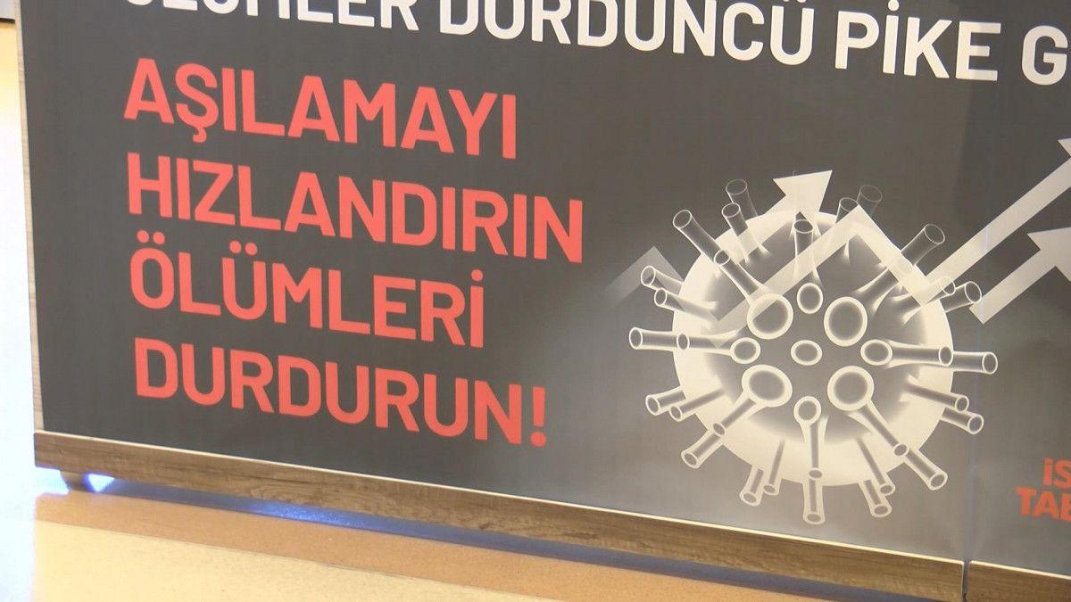 İstanbul Tabip Odası: Aşılamayı hızlandırın, ölümleri durdurun #4