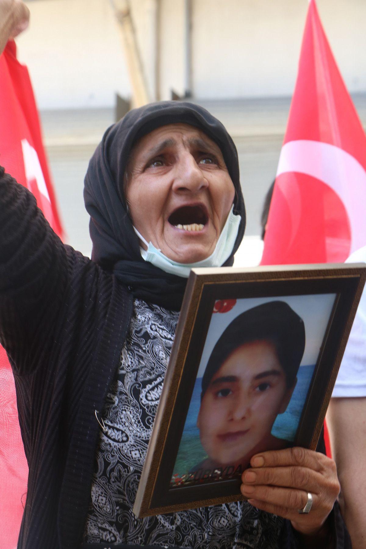 Hakkari de HDP yi protesto eden baba, kızının polis olmak istediğini söyledi #4