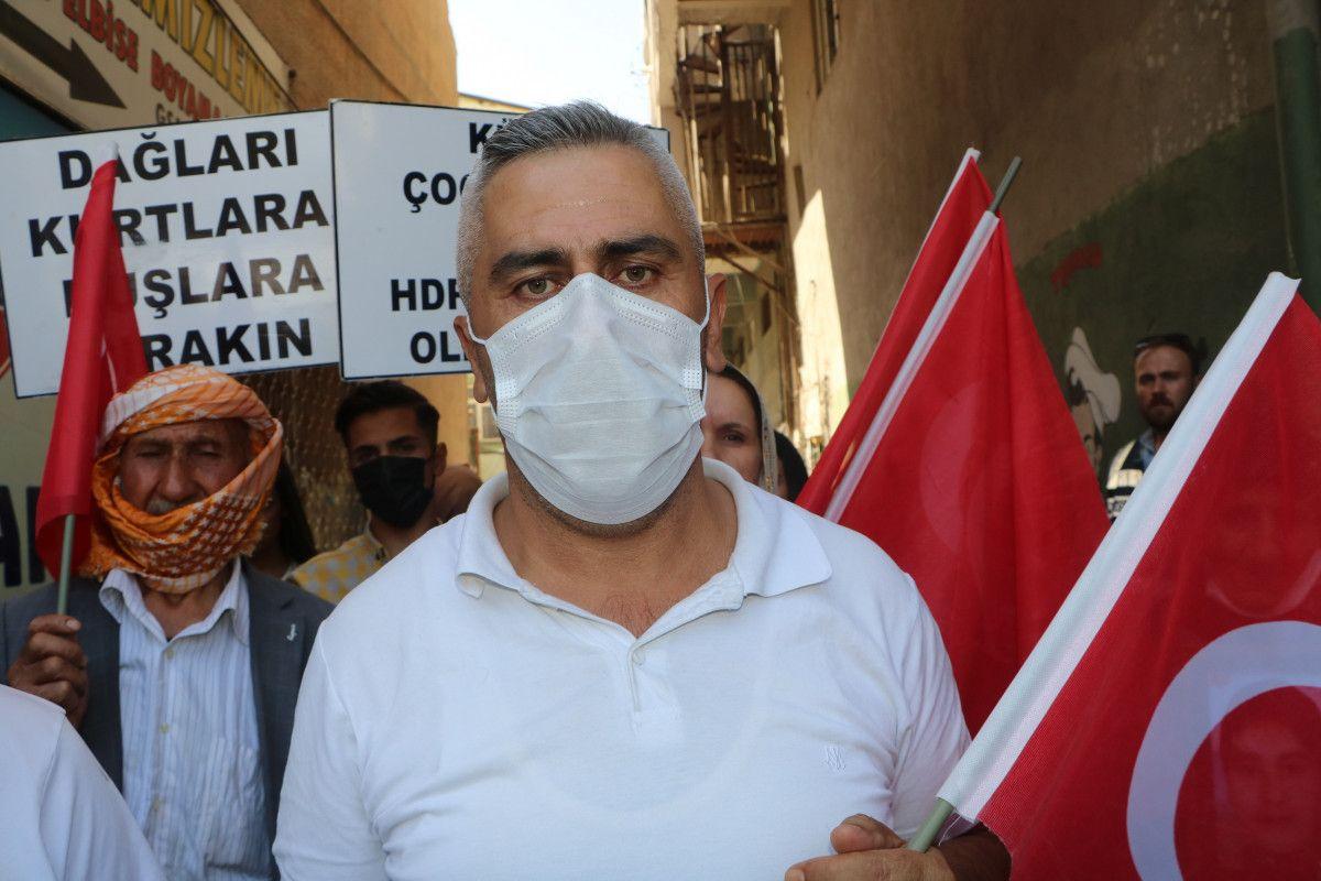 Hakkari de HDP yi protesto eden baba, kızının polis olmak istediğini söyledi #9