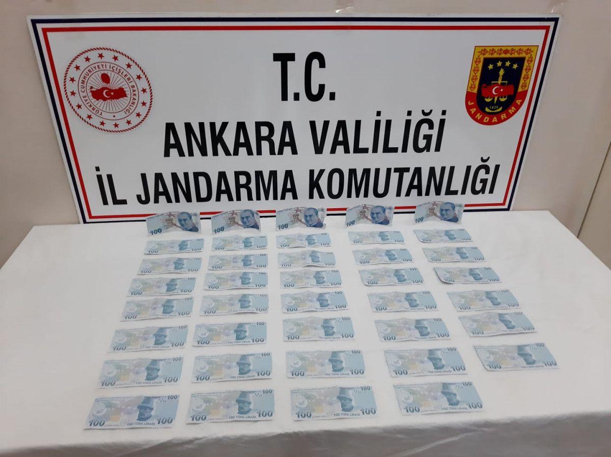 Ankara daki yolcu, üzerinde sahte parayla yakalandı #1