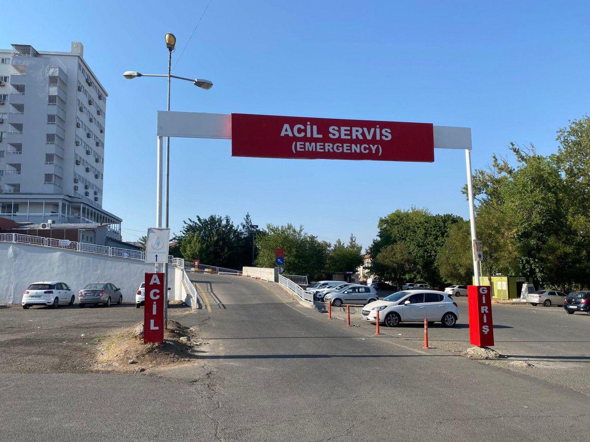 Diyarbakır da akıma kapılan hastayı, yakınları hastane bahçesine gömmek istedi #4