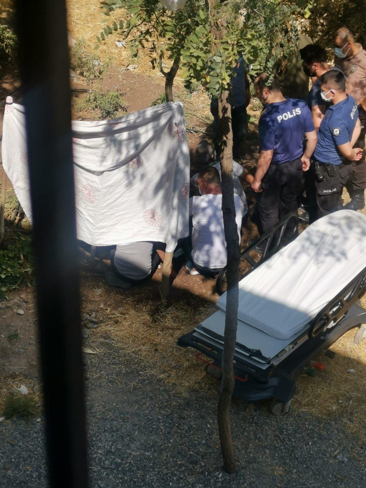 Diyarbakır da akıma kapılan hastayı, yakınları hastane bahçesine gömmek istedi #9