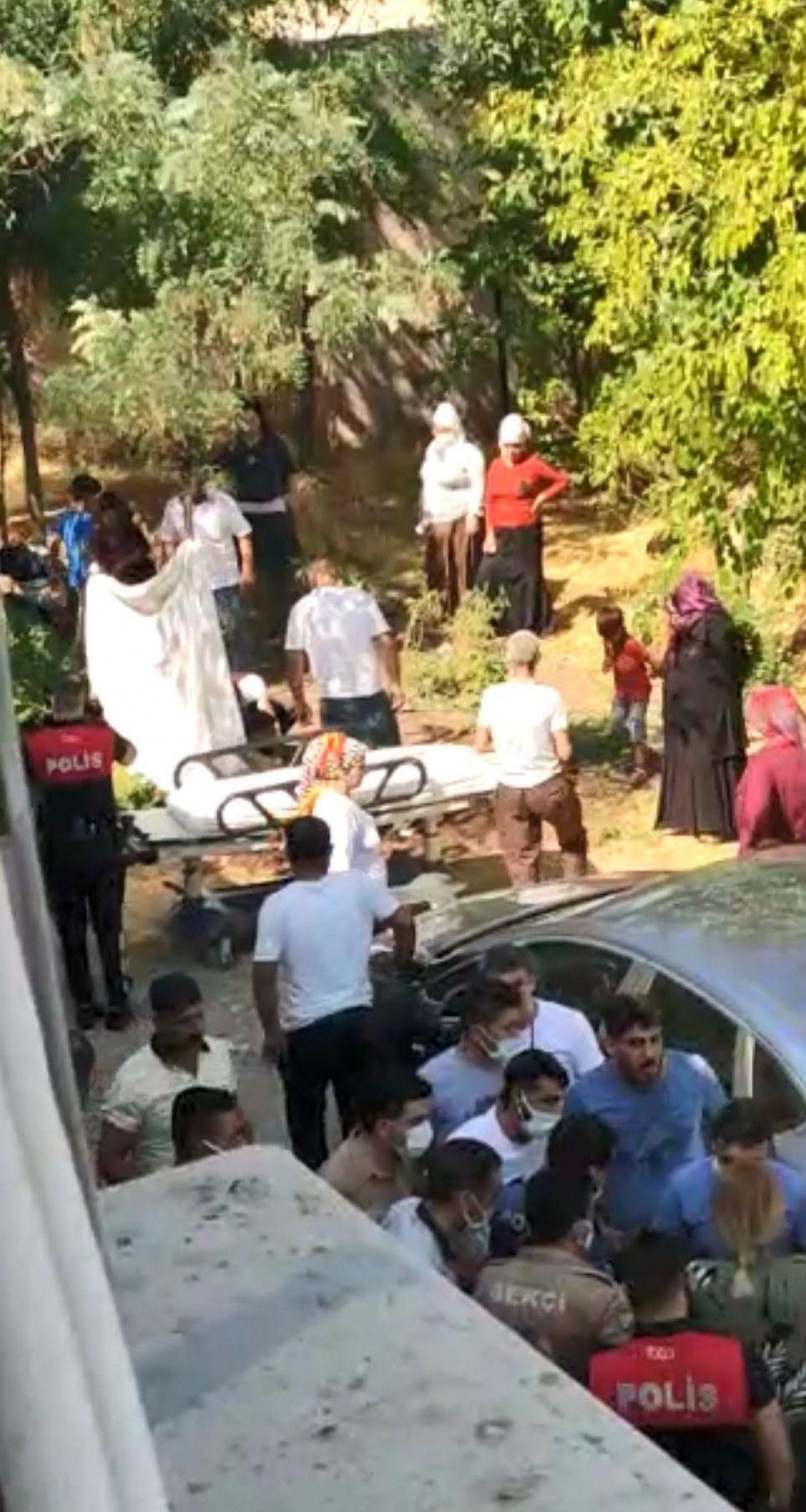 Diyarbakır da akıma kapılan hastayı, yakınları hastane bahçesine gömmek istedi #2