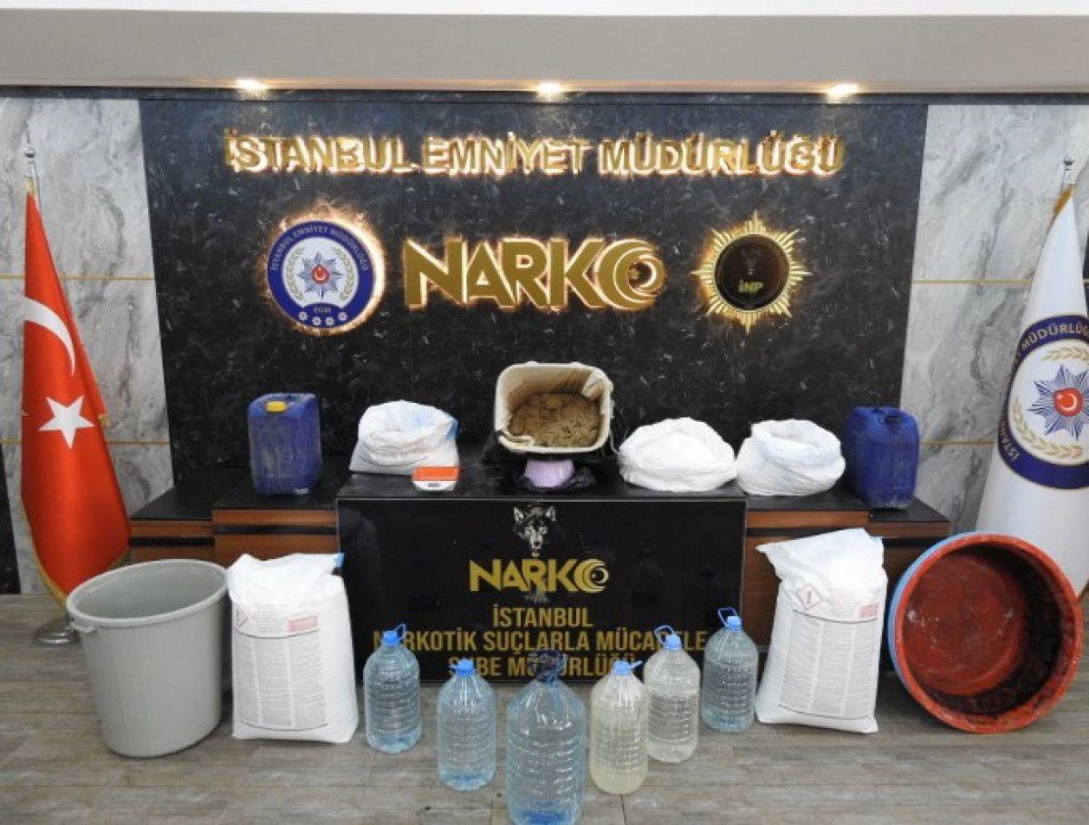 İstanbul da operasyonda, 46 kilo uyuşturucu ele geçirildi #1