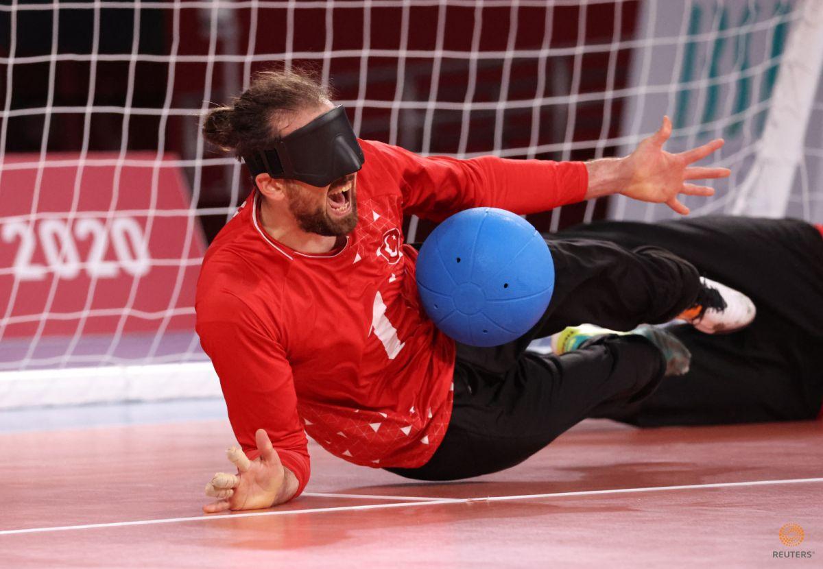 Tokyo Paralimpik Oyunları nda Türkiye golbol takımı, Çin i yendi #10