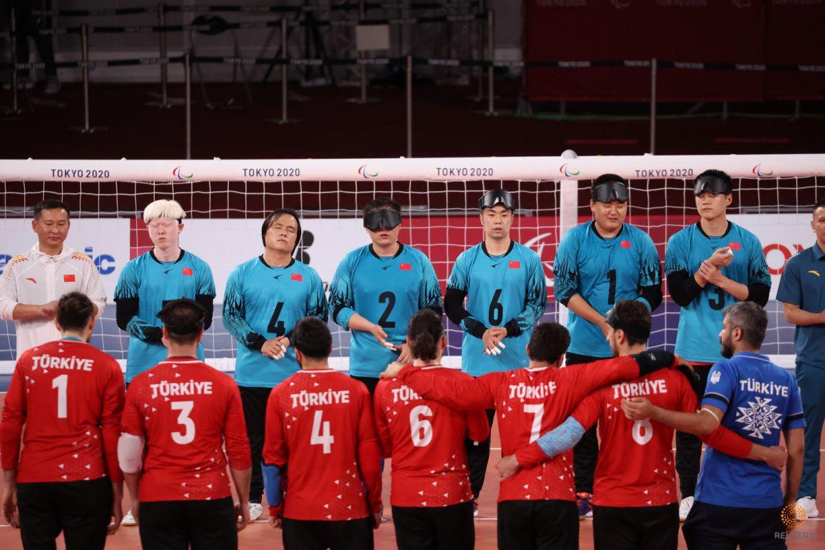 Tokyo Paralimpik Oyunları nda Türkiye golbol takımı, Çin i yendi #9