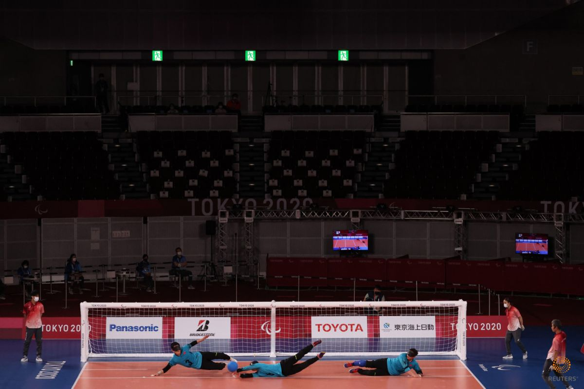 Tokyo Paralimpik Oyunları nda Türkiye golbol takımı, Çin i yendi #8