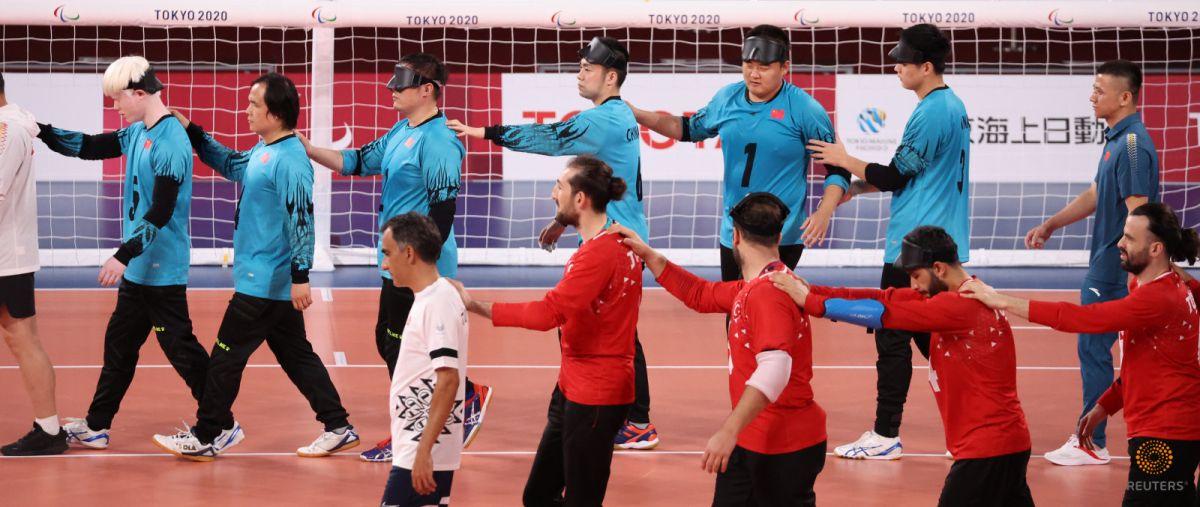 Tokyo Paralimpik Oyunları nda Türkiye golbol takımı, Çin i yendi #7