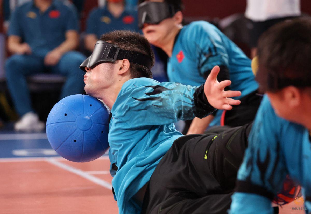 Tokyo Paralimpik Oyunları nda Türkiye golbol takımı, Çin i yendi #6