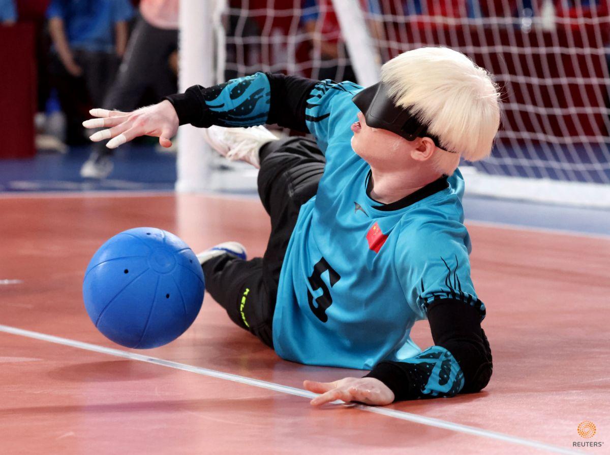 Tokyo Paralimpik Oyunları nda Türkiye golbol takımı, Çin i yendi #5