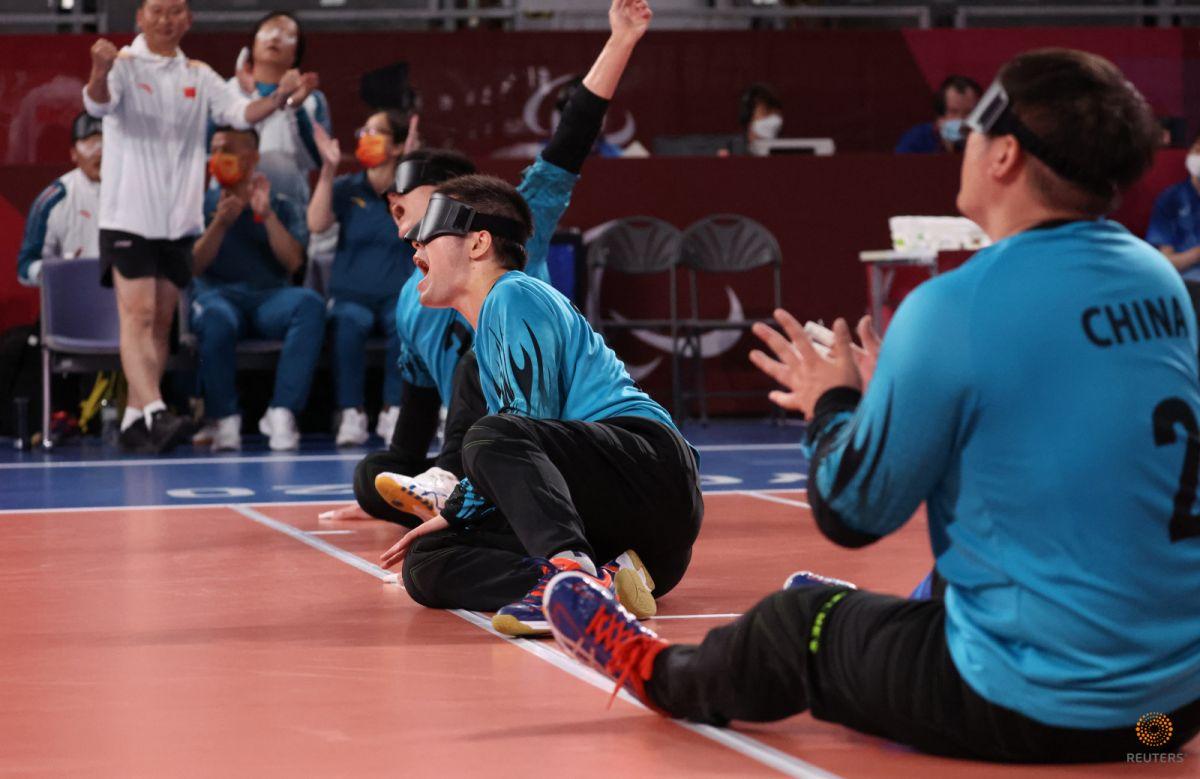 Tokyo Paralimpik Oyunları nda Türkiye golbol takımı, Çin i yendi #4