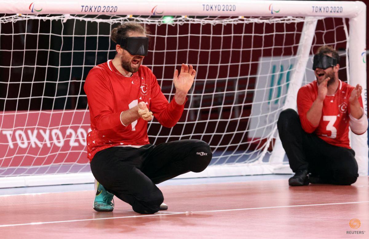 Tokyo Paralimpik Oyunları nda Türkiye golbol takımı, Çin i yendi #3