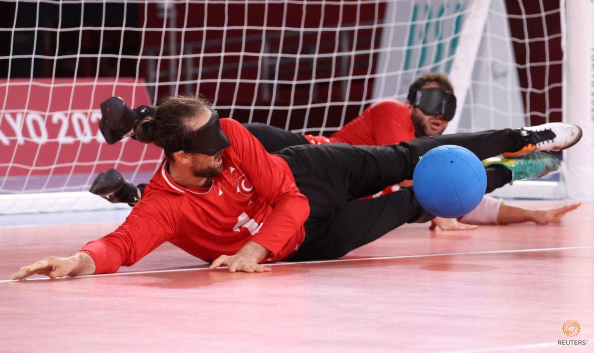 Tokyo Paralimpik Oyunları nda Türkiye golbol takımı, Çin i yendi #2