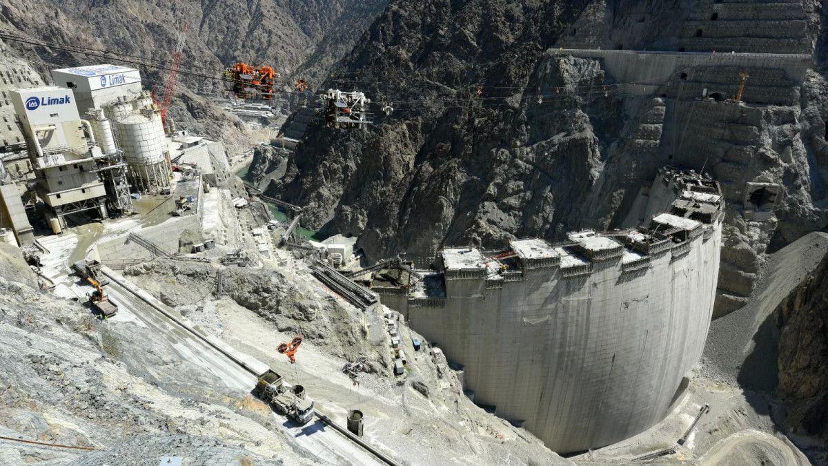 Artvin de yapılan Türkiye nin en yüksek barajı tamamlandı #6