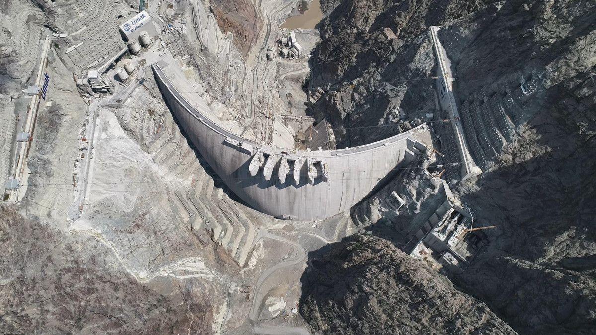 Artvin de yapılan Türkiye nin en yüksek barajı tamamlandı #8