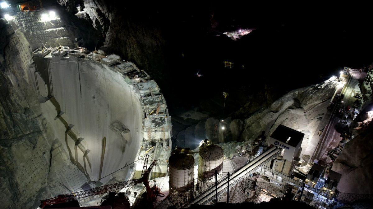 Artvin de yapılan Türkiye nin en yüksek barajı tamamlandı #3