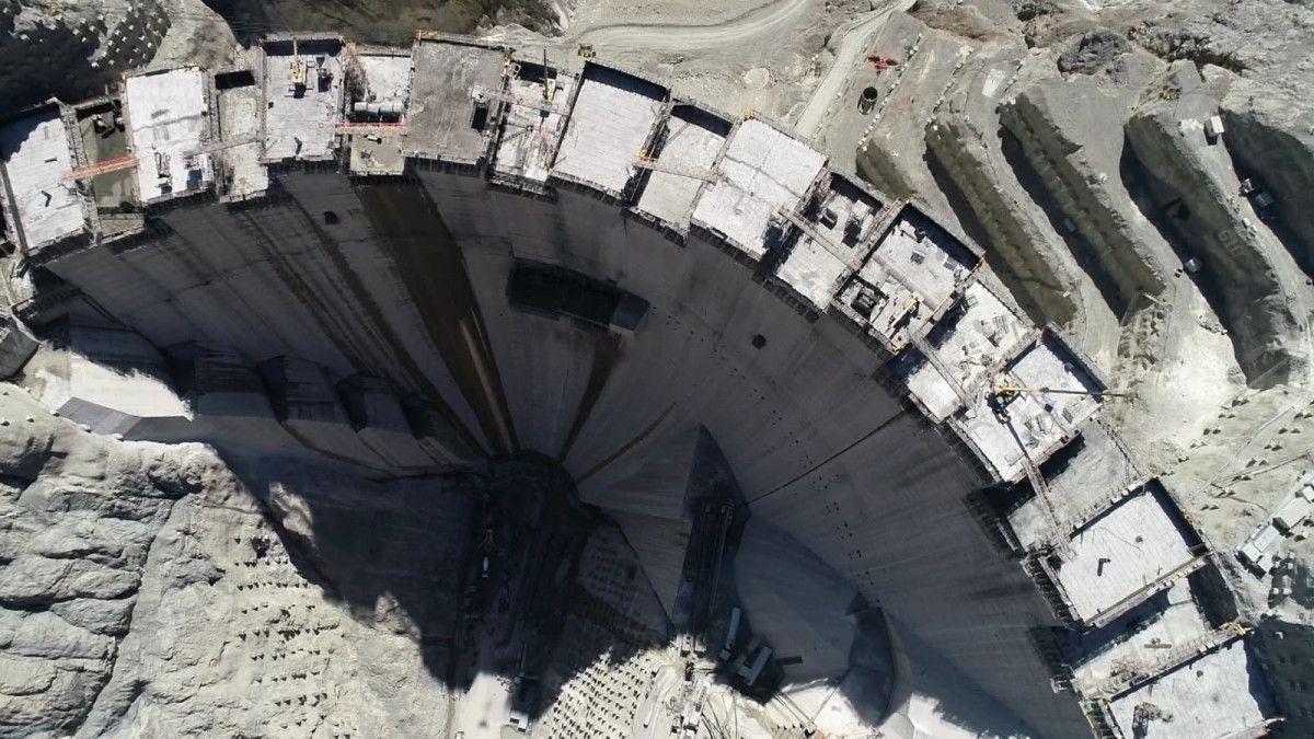Artvin de yapılan Türkiye nin en yüksek barajı tamamlandı #4