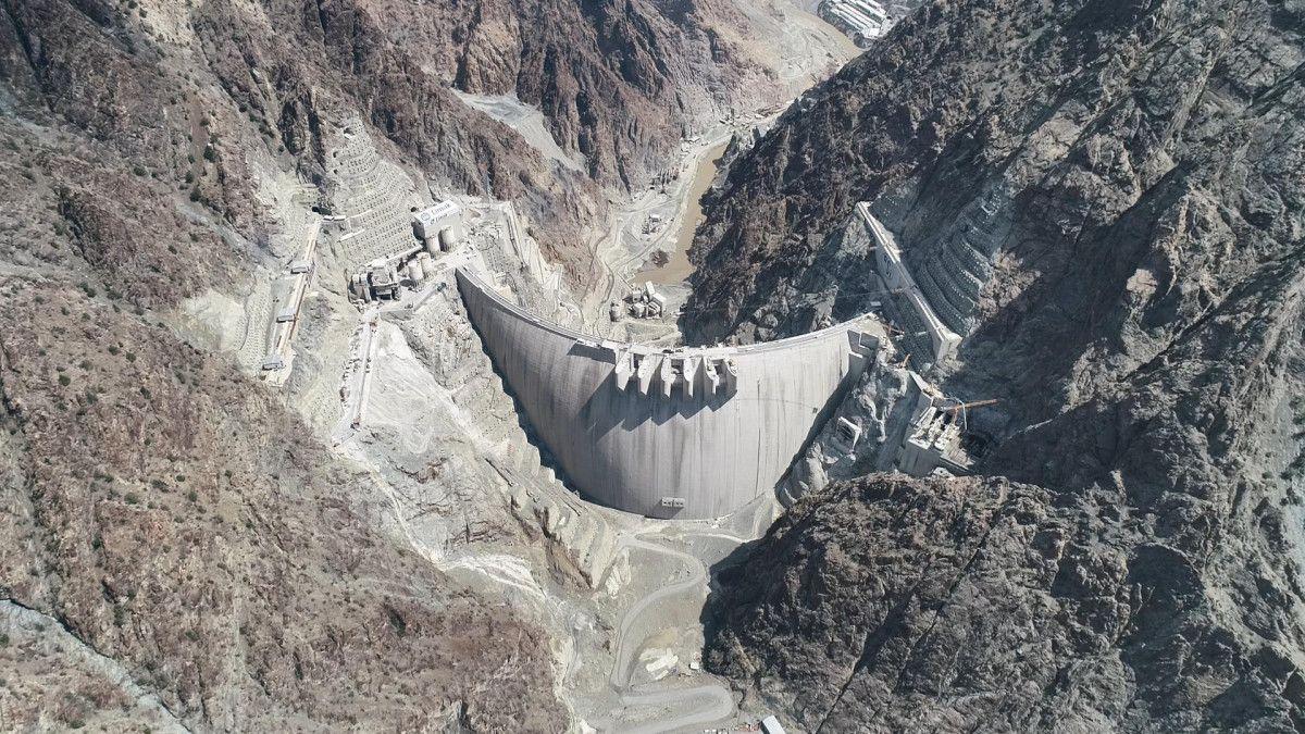 Artvin de yapılan Türkiye nin en yüksek barajı tamamlandı #7