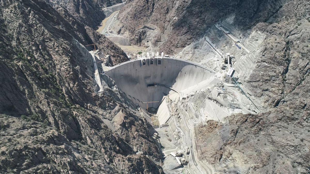 Artvin de yapılan Türkiye nin en yüksek barajı tamamlandı #9