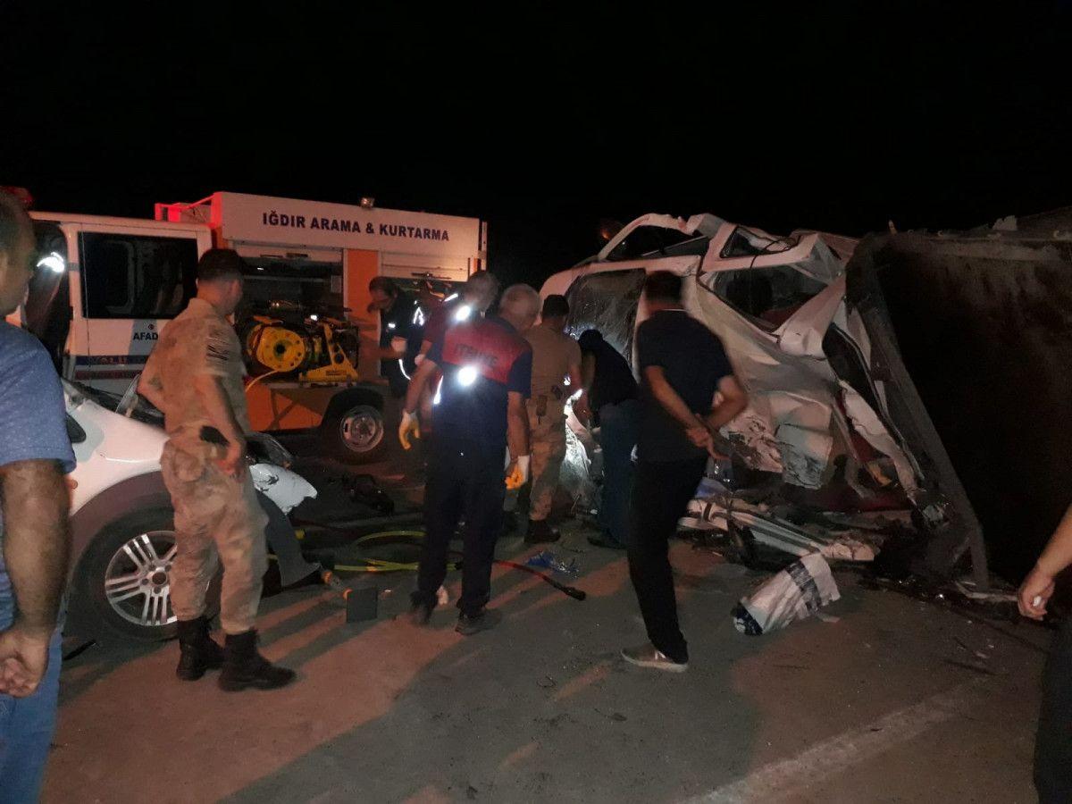 Iğdır'da kaza: 1 ölü, 1 yaralı #1