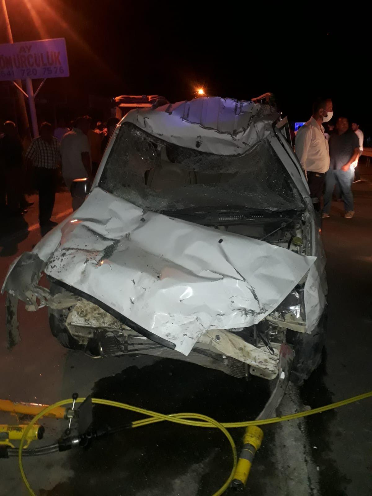 Iğdır'da kaza: 1 ölü, 1 yaralı #2
