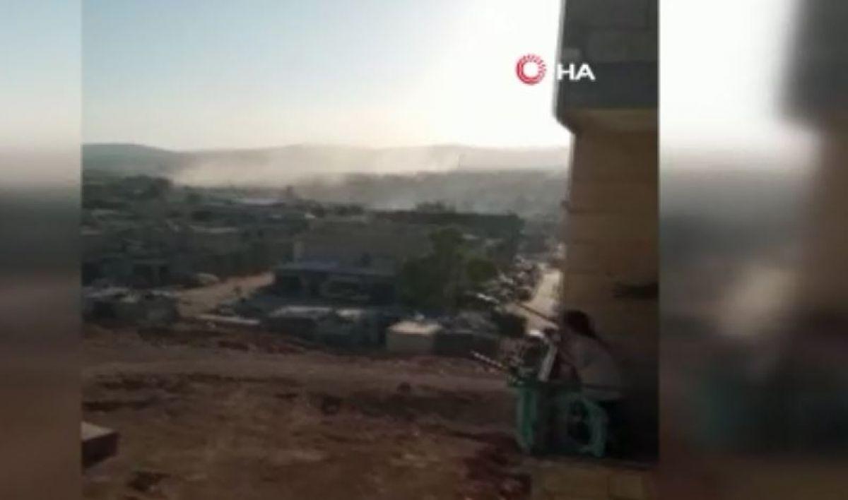 Terör örgütü PKK dan Afrin e saldırı: 3 ü çocuk 6 yaralı #1