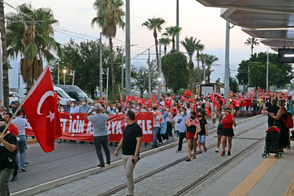 Antalya da HES kodlu fener alayı #9