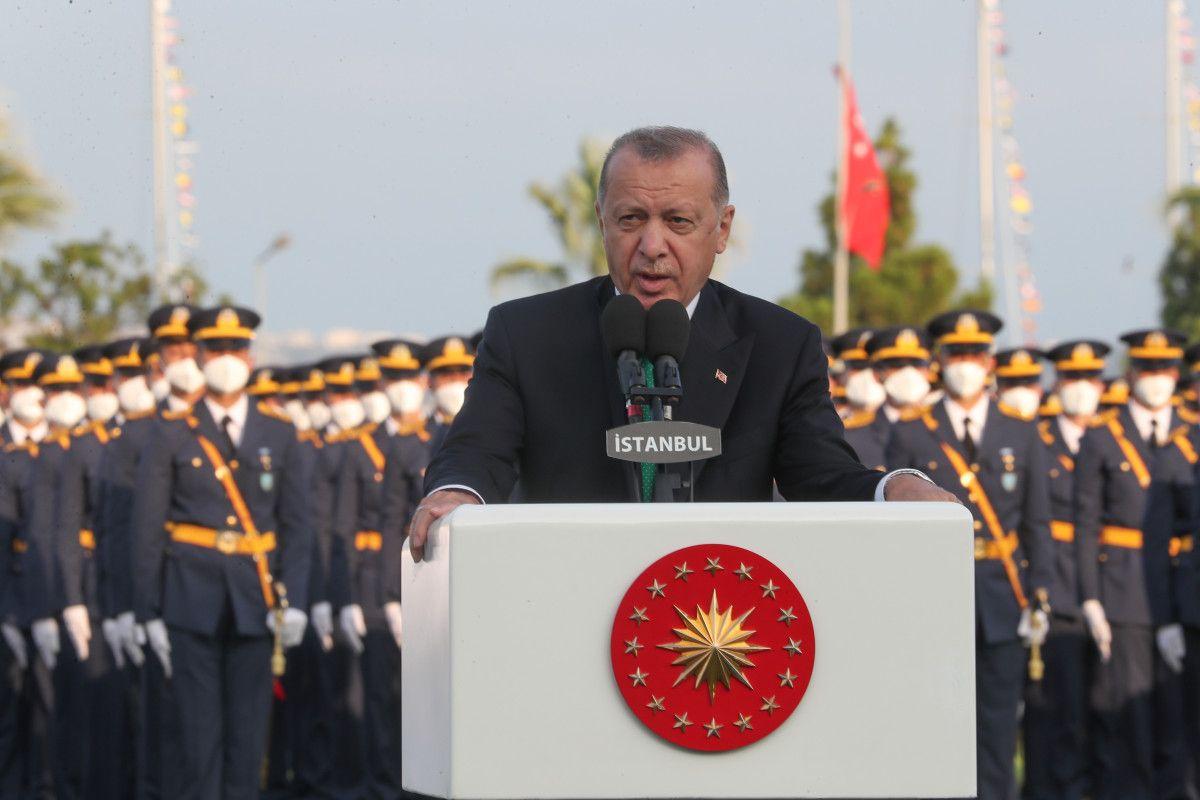 Cumhurbaşkanı Erdoğan, Deniz ve Hava Harp Okulu Diploma Töreni nde #10