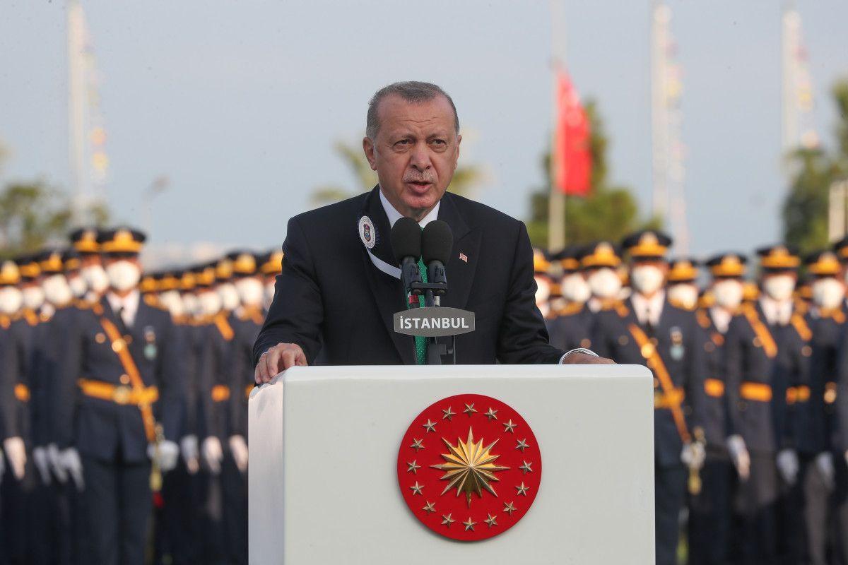 Cumhurbaşkanı Erdoğan, Deniz ve Hava Harp Okulu Diploma Töreni nde #9