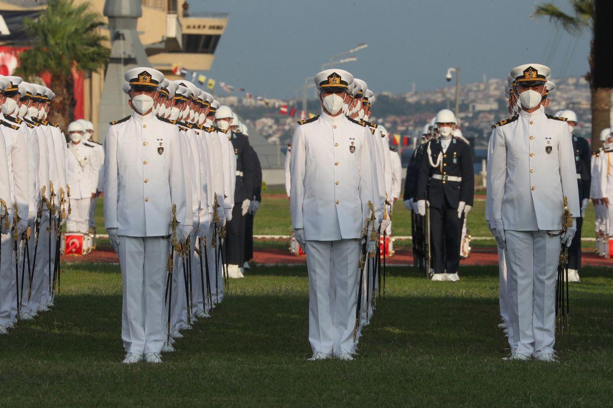 Cumhurbaşkanı Erdoğan, Deniz ve Hava Harp Okulu Diploma Töreni nde #8