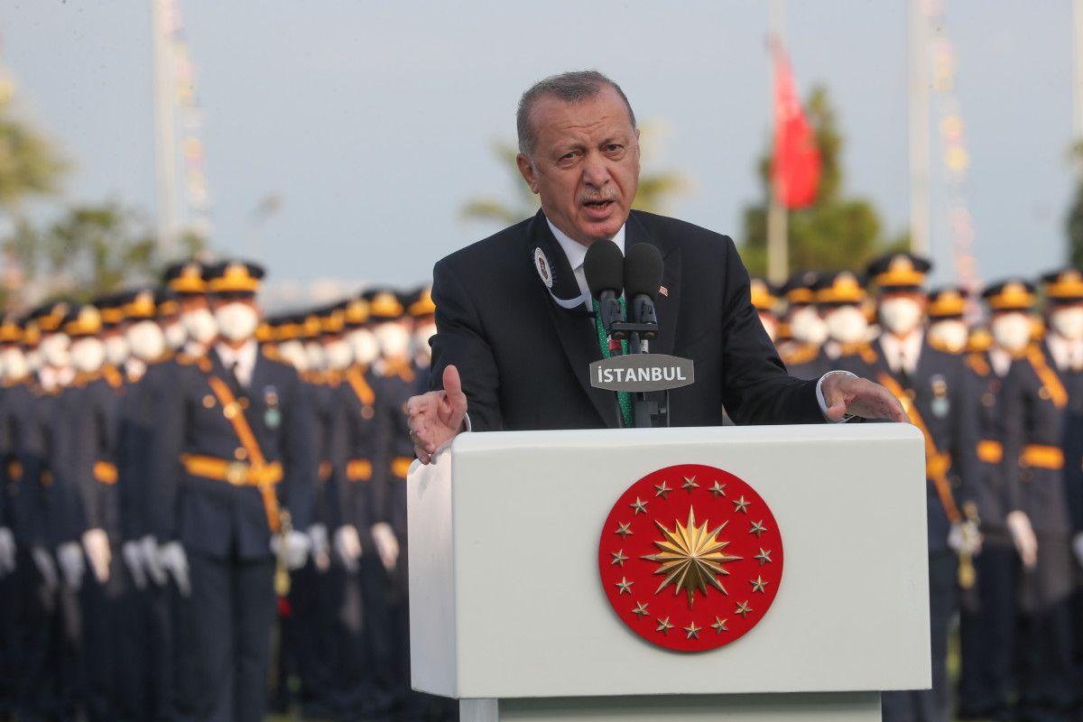 Cumhurbaşkanı Erdoğan, Deniz ve Hava Harp Okulu Diploma Töreni nde #3