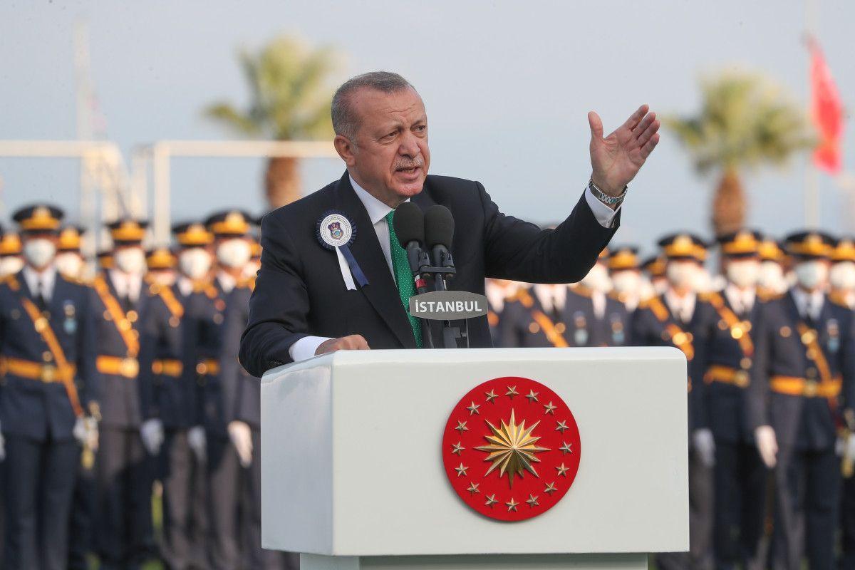 Cumhurbaşkanı Erdoğan, Deniz ve Hava Harp Okulu Diploma Töreni nde #1