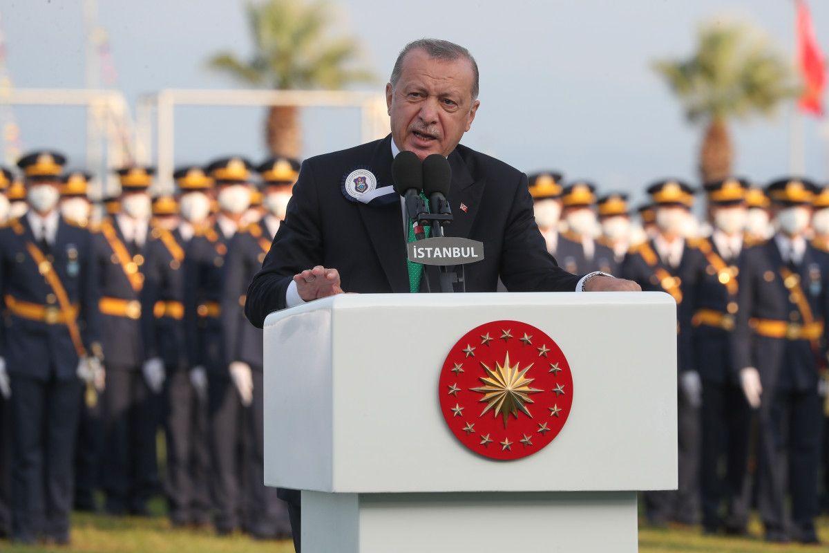Cumhurbaşkanı Erdoğan, Deniz ve Hava Harp Okulu Diploma Töreni nde #2