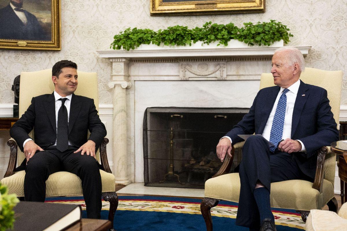 Joe Biden ve Vladimir Zelenskiy, Beyaz Saray da bir araya geldi #2