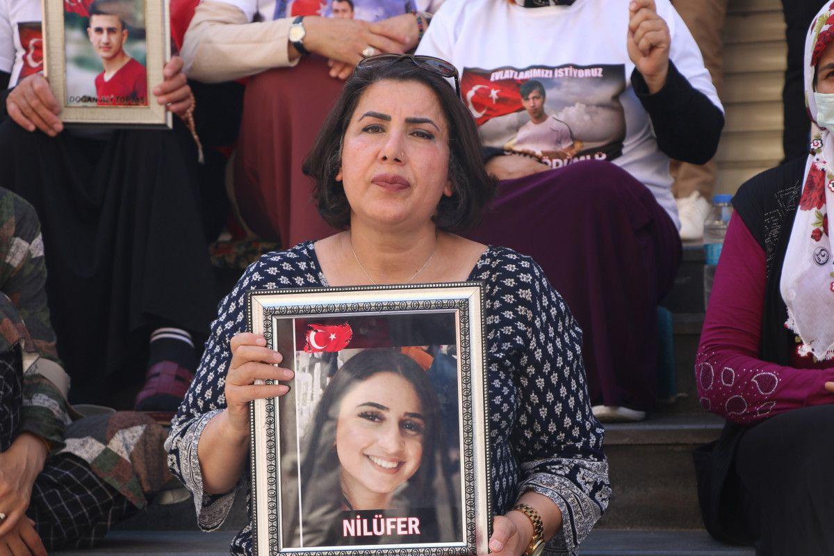 Diyarbakır daki annelere, Almanya da nöbet tutan anneden destek ziyareti #8