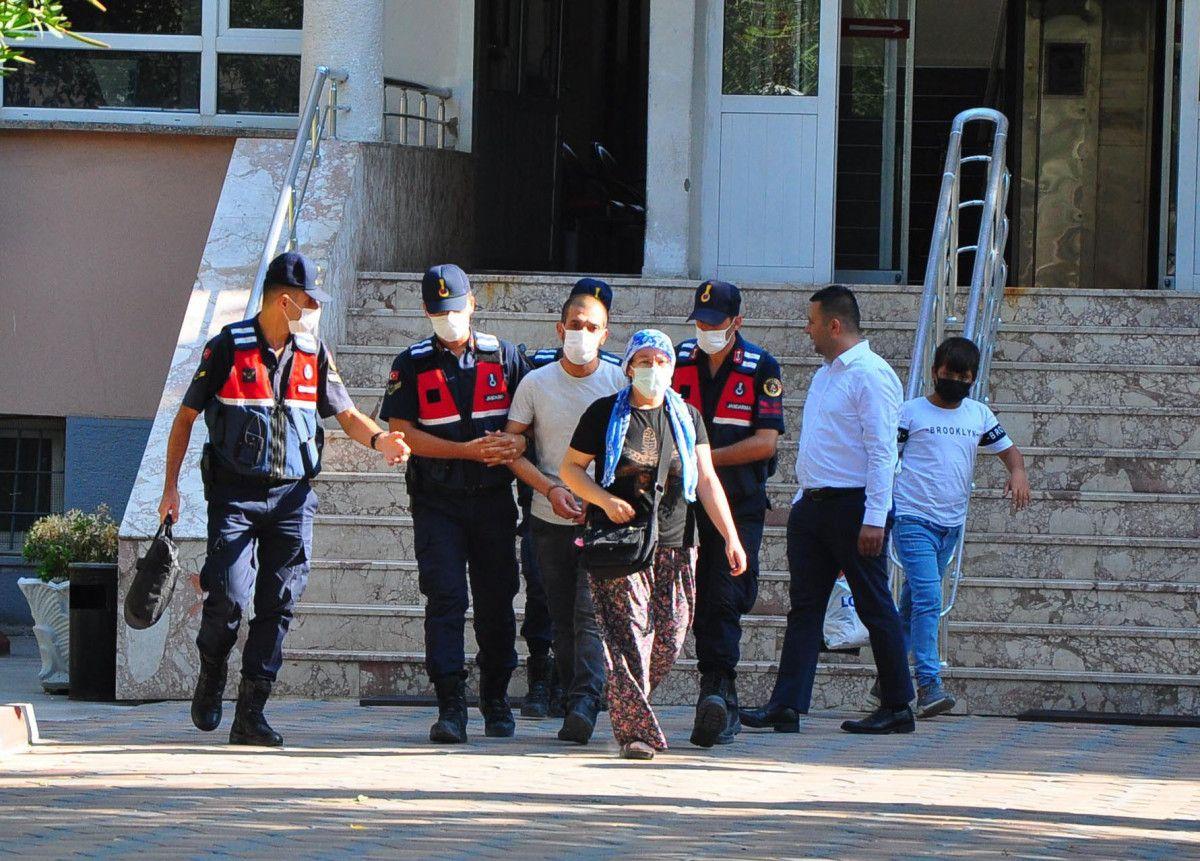 Manisa da kanepenin altındaki çukurda yakalanan şüpheli tutuklandı #1