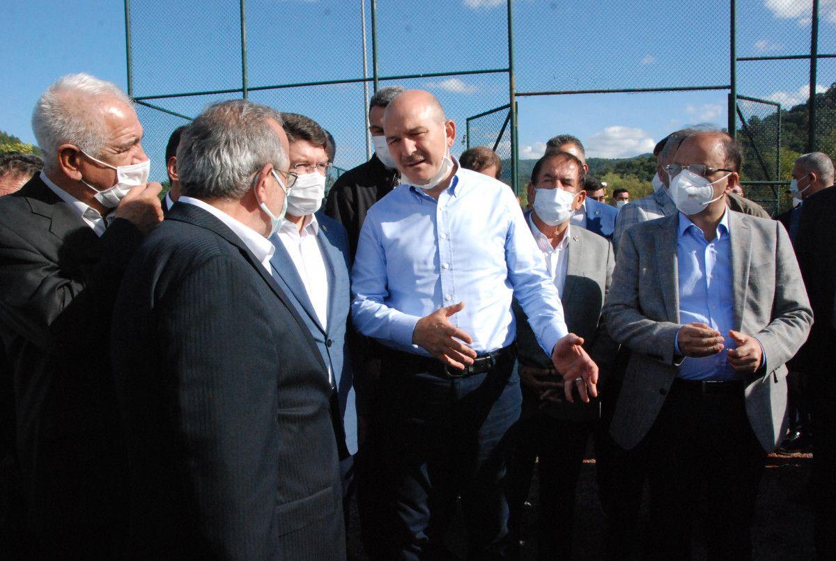Bakan Soylu: Sel afetinin bilançosu 3.5 milyon lira #2