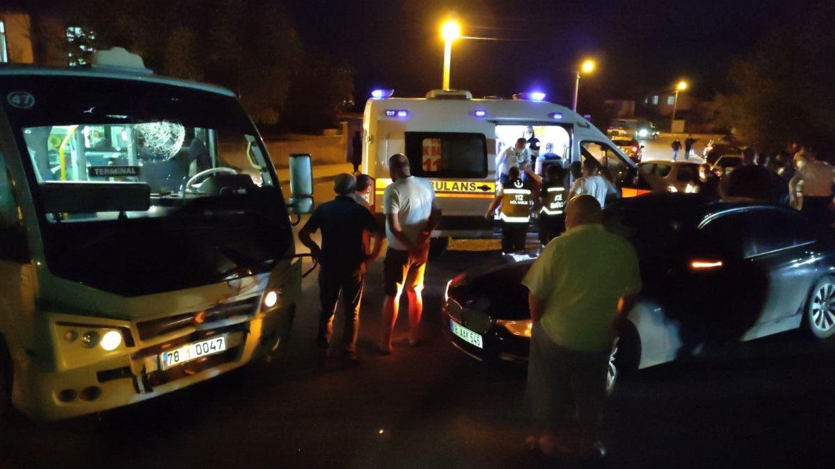 Karabük te kaza: 8 yaralı #1